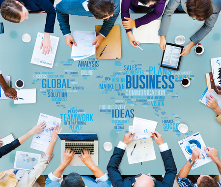 Global Business Opportunity Growth Organization Concept Stock Photo