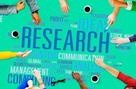 facts: Research Data Facts Information Solutions Exploration Concept