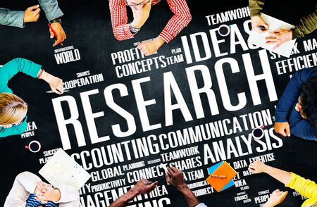 Research Data Feiten Information Solutions Exploration Concept