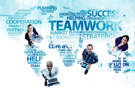 planning strategy: Business People Teamwork Planning Support Strategy Concept