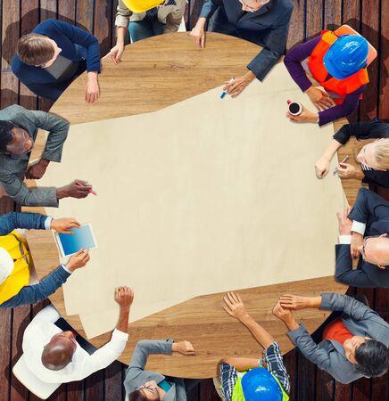 architecture design: Architecture Design Team Meeting Discussion Planning Concept