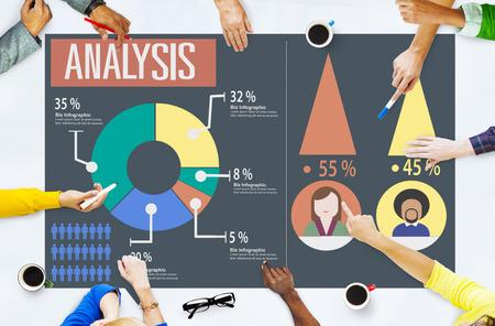 グラフの図の概念を共有分析分析マーケティング