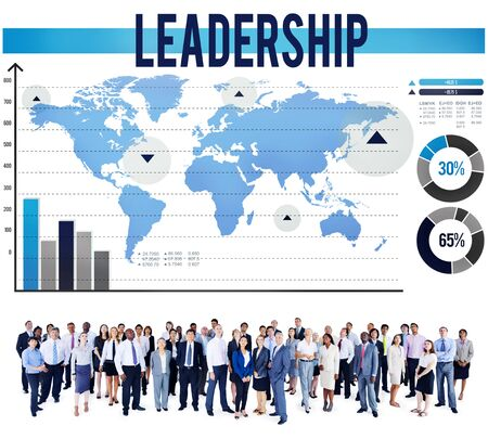 authoritarian: Leadership Leader Authoritarian Manager Boss Concept Stock Photo