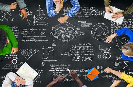 Formula Mathematics Equation Mathematical Symbol Geometry Information Concept Stock fotó