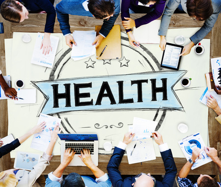 wellness woman: Health Healthcare Disease Wellness Life Concept Stock Photo