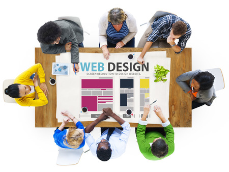 Web Design Network Website Ideas Media Informatie Concept