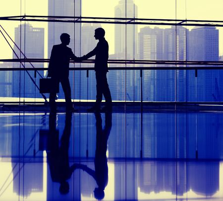 business handshake: Business Handshake Agreement Partnership Corporate Concept