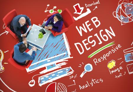 other keywords: Web Design Web Development Responsive Branding Concept