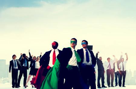 winning team: Business People Corporate Celebration Success Concept Stock Photo