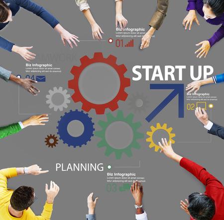 Inicio de Nuevos Negocios Plan de Estrategia Trabajo en equipo Concepto