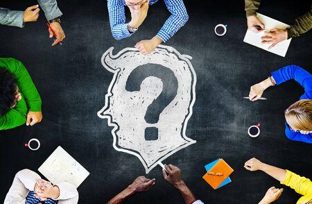 organisational: Blackboard Brainstorming Cooperation Planning Meeting Strategy Sharing Concept
