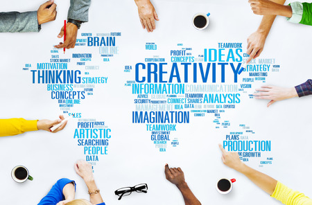 inspiration: Creativity Artistic Imagination Inspiration Innovation Concept