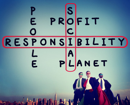 reliability: Social Responsibility Reliability Dependability Ethics Concept