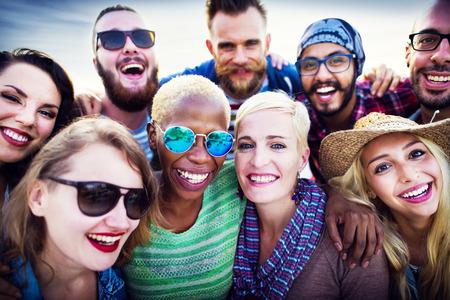 pessoas: Juventude Pessoas Amity Partido Juntos Ver