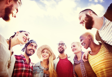 communities: Friends Friendship Leisure Vacation Togetherness Fun Concept
