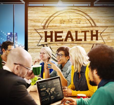 Health Healthcare Disease Wellness Life Concept Imagens