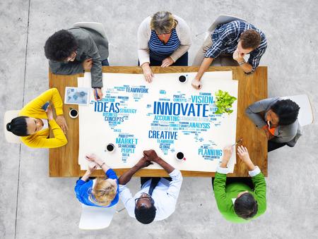 creativity: Innovation Inspiration Creativity Ideas Progress Innovate Concept Stock Photo