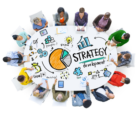Strategy Development Goal Marketing Vision Planning Business Concept 版權商用圖片 - 41874477