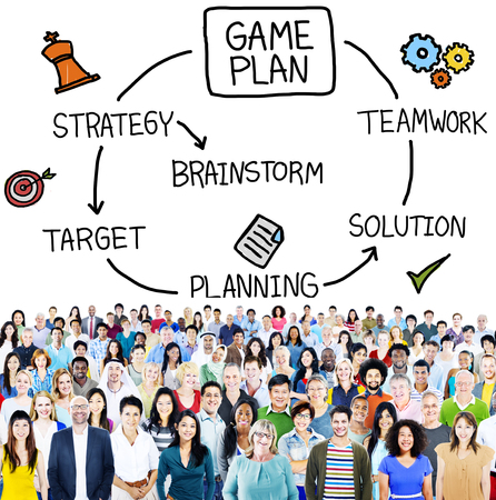 game plan: Game Plan Strategy Planning Tactic Target Concept