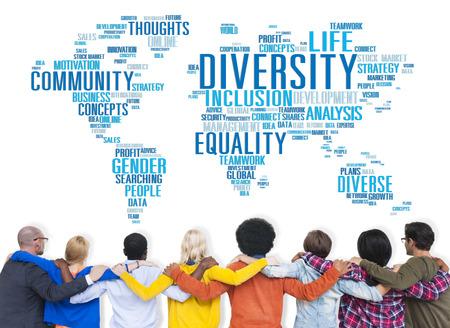 Diversity Ethnicity World Global Community Concept Stok Fotoğraf - 41878808