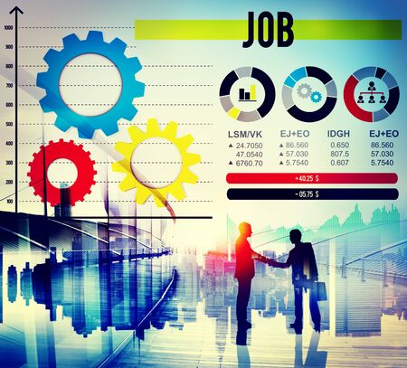 job occupation: Job Occupation Recruiting Human Resources Concept Stock Photo