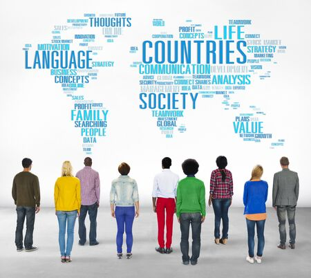 multi national: Countries Nation Society Territory International Concept