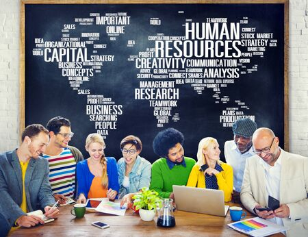 asian ethnicity: Human Resources Career Jobs Occupation Employment Concept Stock Photo