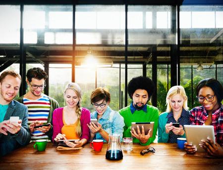 conexiones: Equipo Trabajo en equipo Discusión Reunión de planificación concepto