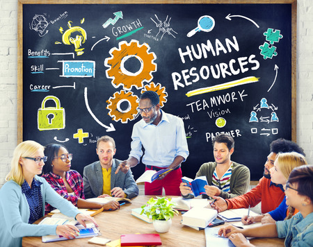 human: Human Resources Employment Teamwork Study Education Learning Concept