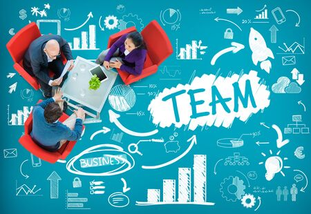 group strategy: Team Teamwork Support Collaboration Togetherness Help Concept