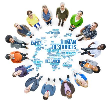 Human Resources Carriere Beroep Beroep Werkgelegenheid Concept Stockfoto
