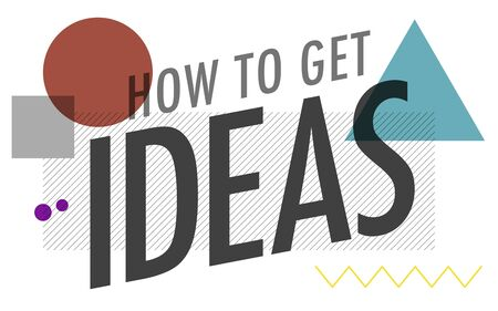 creativity: Ideas Thinking Concept Inspiration Creativity Concept