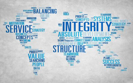 trust: Integrity Honesty Sincerity Trust Reliability Concept