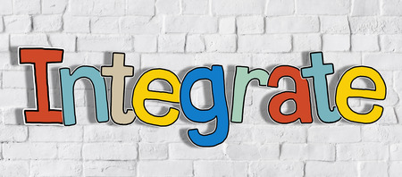 merging together: Word Integrate and Brick Wall in the Back