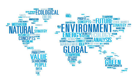 global environment: Environment Ecology Conservation Productivity Concept
