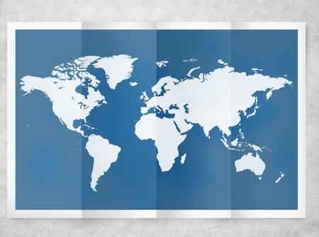 World Global Business Cartography 국제화 국제 개념