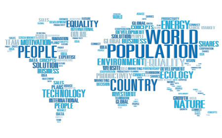 población: Mundial de la Población Mundial Gente Concepto de Comunidad Internacional