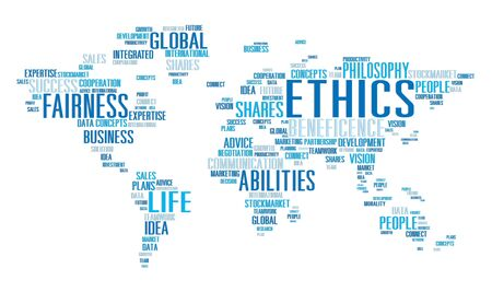 principles: Ethics Ideals Principles Morals Standards Concept