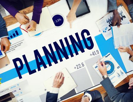 Planning concept 写真素材