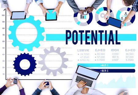 possibility: Potential Ability Skill Talent Development Possibility Concept Stock Photo