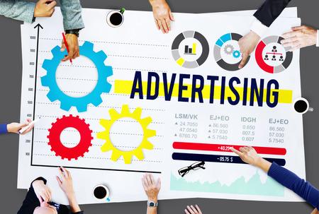 Advertise Advertising Advertisement Branding Concept