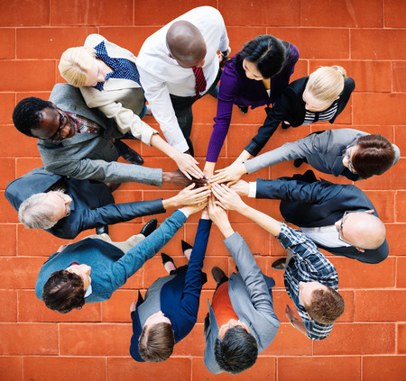 coworker: Business People Cooperation Coworker Team Concept
