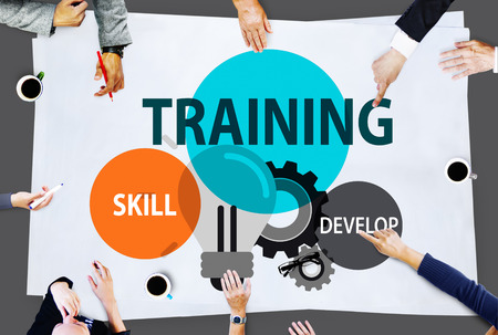 business development: Training Skill Develop Ability Expertise Concept