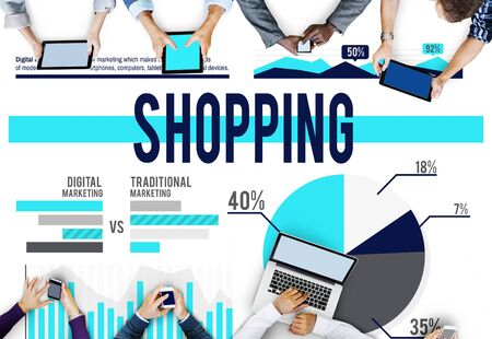 buying: Shopping Buying Marketing Sale Business Concept