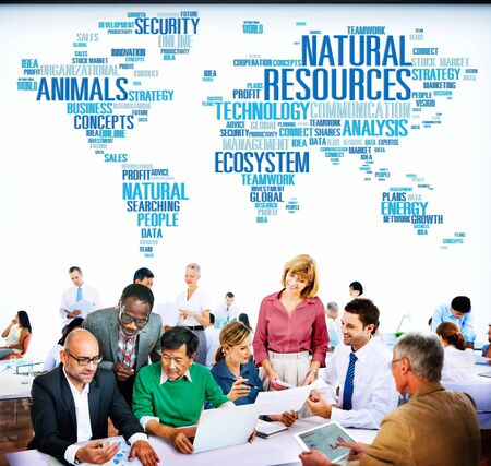 environmental conversation: Natural Resources Conservation Environmental Ecology Concept
