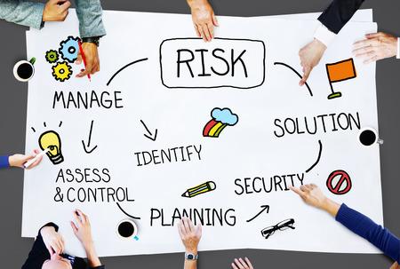 Access Management et contrôle des risques Concept de faiblesse Banque d'images - 42750573