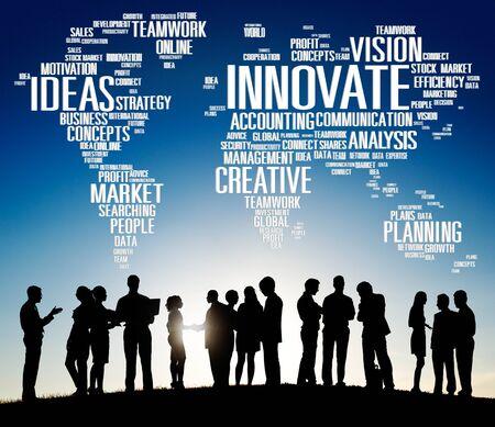 creativity: Innovate Ideas Inspiration Invention Creativity Concept