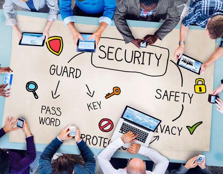 sigilo: Seguran�a e Privacidade Prote��o Secrecy Conceito da coliga��o Banco de Imagens