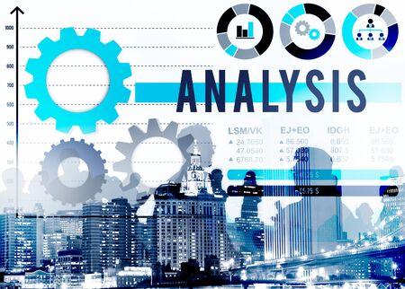 to analyze: Analysis Analyze Business Information Data Concept