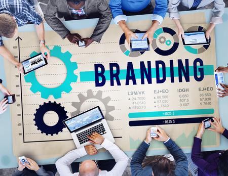 valor: Branding Brand Patent Product Value Concept Foto de archivo